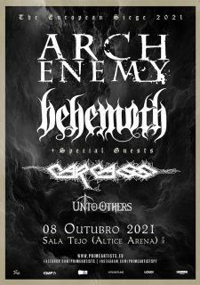 ARCH ENEMY & BEHEMOTH - 08 Outubro 2021